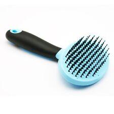 Blue Pet Fur Grooming Shedding Brush Comb Rake Dog Cat Long Short Hair