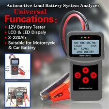 Car Battery Tester Multi-Language Digital AGM EFB Gel Automotive Load Analyzer