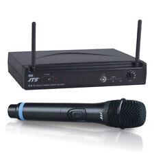 JTS E-6 UHF Wireless Handheld Microphone Church PA DJ Disco Karaoke Sound System