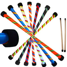 Flames N Games TWISTER Pro Devil Stick Set -Silicone Coated WOODEN Hand sticks