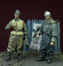 DDAY MINIATURE WWII WAFFEN SS FOREIGN VOLUNTEERS WINTER 1943-45 1/35 Cod.35073