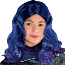 Party City Mal Wig for Girls, Descendants 3, Halloween Costume Accessories, One
