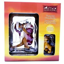 New Walt Disney Lion King Hanging Christmas Ornament Timon & Simba Enesco