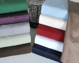 3 PC or 5 PC Duvet Set 1000 Thread Count Egyptian Cotton AU Super King All Color
