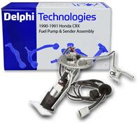 Delphi Fuel Pump & Sender Assembly for 1990-1991 Honda CRX - Gas Gasoline dv