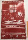 Rare Dave Matthews Band Coors Ampitheater Handbill!