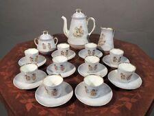 SERVIZIO CAFFE PORCELLANA GINORI 1896 - 1910