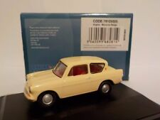 Ford Anglia - Yellow 1:76 Oxford Diecast Model Car British