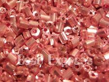 #7517 75 beads Bronze Lustered Amethyst Toho Hexagon Beads
