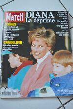REVUE PARIS MATCH N°2341 / 1994 DIANA LA DEPRIME LADY DI / CANDELORO CHAMPION