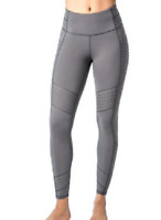 NEW Active Life Women's Side Pocket Moto Legging Size Medium $98 Retail