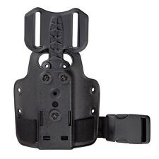 Safariland 6004-25-2 Single Strap Leg Shroud with Drop Flex Adapter Black