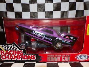 Wyatt Radke 1996 NITRO Bandit Racing Champions NHRA Funny Car 1:24 scale