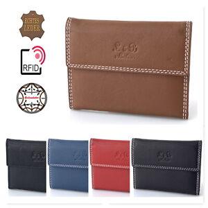 RFID Ausweisetui Leder Ausweismappe Ausweishülle Kreditkartenetui Führerschein