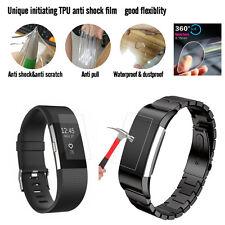 Grande Ultra Transparent HD TPU Film de protection d'écran pour Fitbit Charge 2
