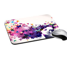 Butterfly Art Mouse Pad Rectangular Computer & Laptop Mouse Support Mat Pad