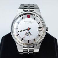 Stainless Steel Omega Constellation Chronometer f300Hz Men's Wrist Watch