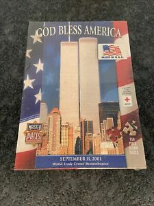 Master Pieces September 11, 2001 Twin Towers 550 Piece Puzzle New Sealed