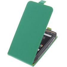 Funda para Cubot Kingkong Protectora Teléfono Móvil con Tapa Verde