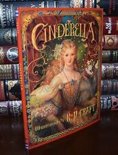 Cinderella Illustrated by K.Y. Craft Brand New Large Hardcover Gift 2 Day Ship
