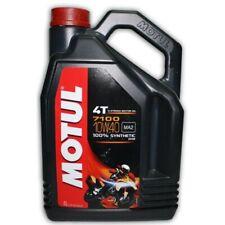 Motul 7100 10w/40 Motocross MX Dirt Bike Motorbike Road 4Ltr Motor Engine Oil