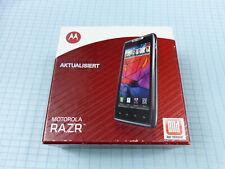 ORIGINALE Motorola Razr xt910 16gb NERO! NUOVO & OVP! senza SIM-lock! COMPLETO!