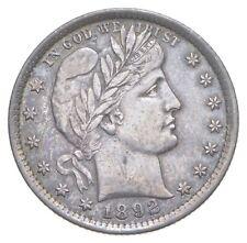 1892 Barber Quarter *0706