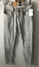 New H&M Girls Skinny Gray Jeans Pants Sz 12-13Y