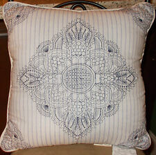 "Mary Jane's Home, Pretty in Paisley 2 Decorative Pillows 18"" & 14 x 7"", NWT"