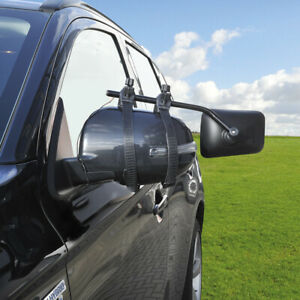 Universal Caravan Spiegel Zusatzspiegel Wohnwagenspiegel Aufsatzspiegel