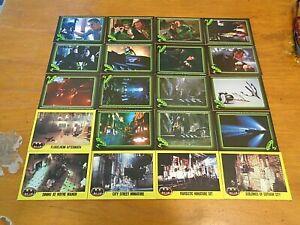 20 X MIXED LOT OF BATMAN TRADING CARDS-1989-1995-FREE POST