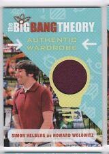 2016 Big Bang Theory seasons 6 and 7 costume card M28 Howard