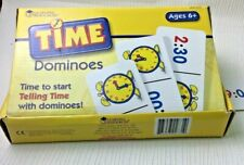 Learning Resources Time Dominoes Tell the Time Complete Boxed USED EducationW712