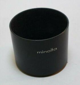 Minolta 52mm Screw-in Metal Lens Hood Shade for MC MD Lens