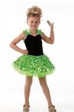 How About That Dance Costume Ballet Jazz Tap Velvet & Sequin Dress Child Large