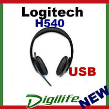 Logitech H540 USB Headset with Micphone For PC/MAC/NOTEBOOK  (Free Postage)