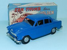 TOM THUMB made by STREAMLUX 1/36 FE HOLDEN painted in dark blue from a kit BOXED