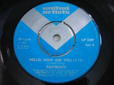 Easybeats Hello, How Are You / Falling Off the Edge 1968 Import 45rpm VG+