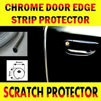 Chrome Car Door Edge Guard Protector Moulding Trim 3m Molding Strip