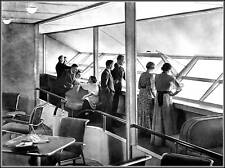 Photo: Hindenburg: Lounge, Passengers & Promenade Deck
