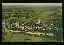 More details for somerset axbridge panoramic view c1900/10s? ppc by r wilkinson