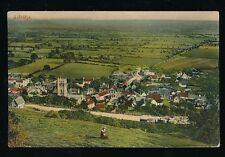 Somerset AXBRIDGE Panoramic view c1900/10s? PPC by R Wilkinson