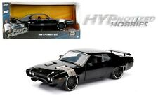 JADA 1:24 FAST AND FURIOUS DOM'S PLYMOUTH GTX DIE-CAST BLACK 98292