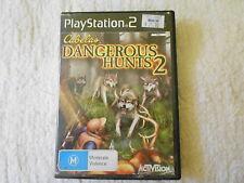 PS2 CABELA'S DANGEROUS HUNTS 2 ORIGINAL 2005 RELEASE - FAST POST