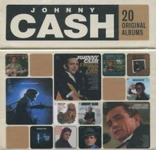 JOHNNY CASH 20 Original Albums 20CD BOX SET NEW Fabulous/Hymns/Folsom/Orange