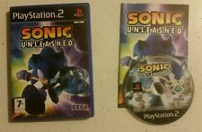 Sonic Unleashed  - PS2 - Playstation 2 - PAL - Complete - Fast Free Post!