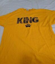 """New Seattle Mariners XL SGA """"King Felix""""Felix Hernandez t-shirt"""