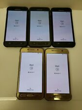 Lot Of Five! Samsung Galaxy S7 Active Sm-G891A- 32Gb-At&T Phone-See Description