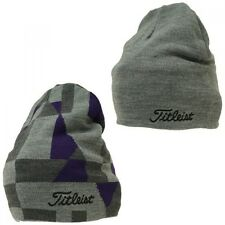 Titleist JAPAN Golf Reversible Knit Cap Hat Warmer HW5CWN 2016 Limited Gray