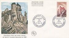 FRANCE 1965 FDC CHATEAU FORT DE JOUX PONTARLIER YT 1441